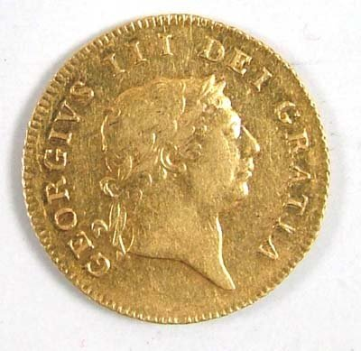 534: George III half guinea, 1809