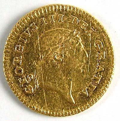 536: George III third guinea, 1804