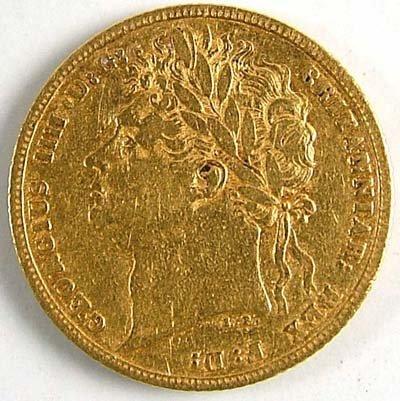 540: George IV sovereign, 1821