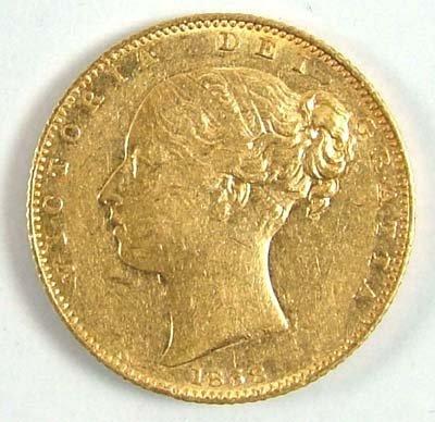 544: Victoria, sovereign, 1838