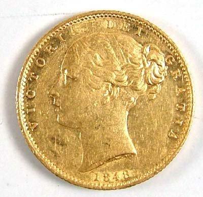 545: Victoria, sovereign, 1848