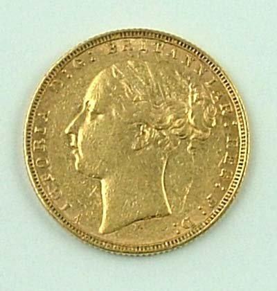 546: Victoria, sovereign, 1874 M