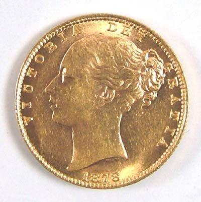 547: Victoria, sovereign, 1878 S