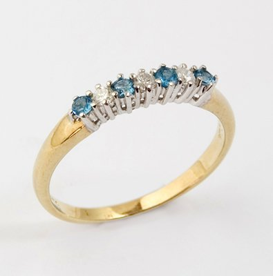 6: Ladies half eternity ring