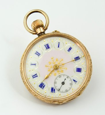 10: Ornate French pocket watch