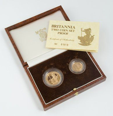 570: Elizabeth II, Britannia proof gold (2)