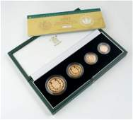 576: Elizabeth II, proof gold set, 2002
