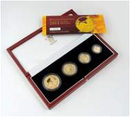 579: Elizabeth II, Britannia proof gold set, 2005