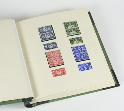 781: Elizabeth II stamp collection, 1953-1970