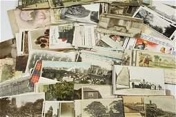 840: Postcards, various (263) etc.
