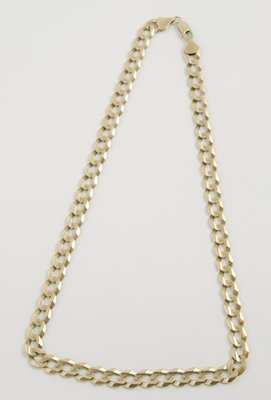 11: Faceted curb chain