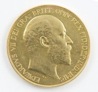 425: Edward VII, £5 piece, 1902