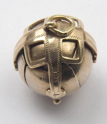 4: Antique Masonic ball