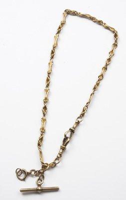6: Antique Albert chain