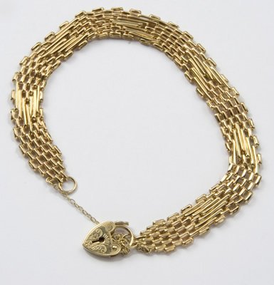 11: Ladies fancy gate type bracelet