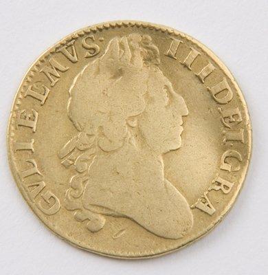 413: William III, guinea, 1701