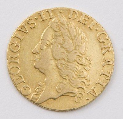 415: George II, half guinea, 1755