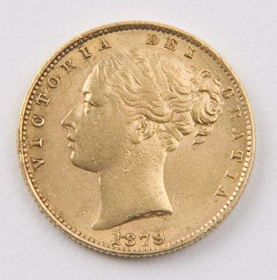417: Victoria, sovereign, 1879 S