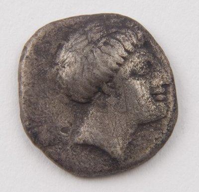 426: Euboia, Chalkis, AR drachm