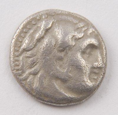 431: Macedonia, Alexander III, AR drachm