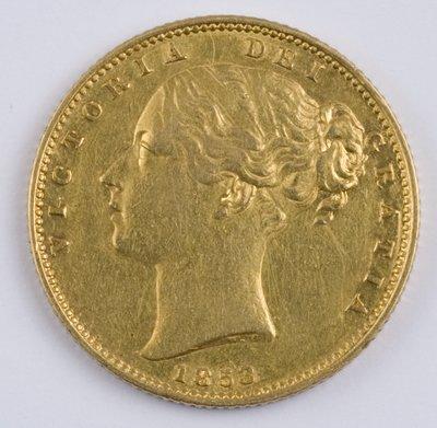 403: Victoria, sovereign, 1853