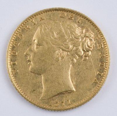 404: Victoria, sovereign, 1871