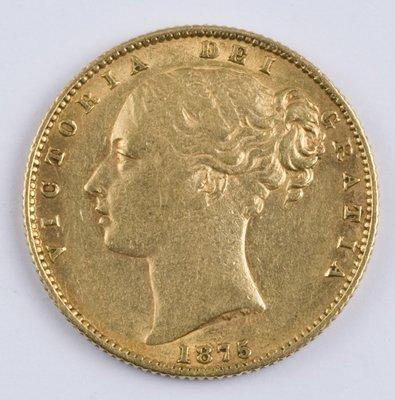 405: Victoria, sovereign, 1875 S