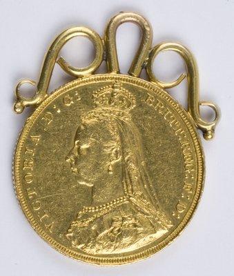 406: Victoria, sovereign, 1887
