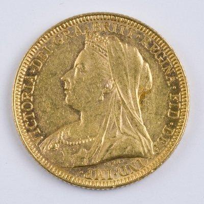 407: Victoria, sovereign, 1893 M