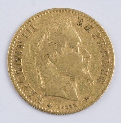 411: France, 10 francs, 1866 A