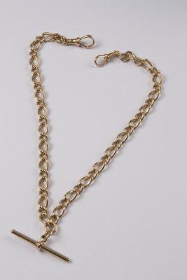 12: Antique double Albert chain