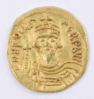 482: Phocas, gold solidus