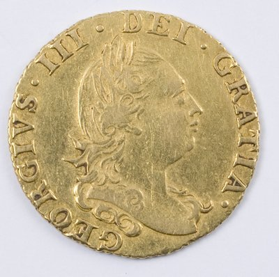 483: George III, half guinea, 1784