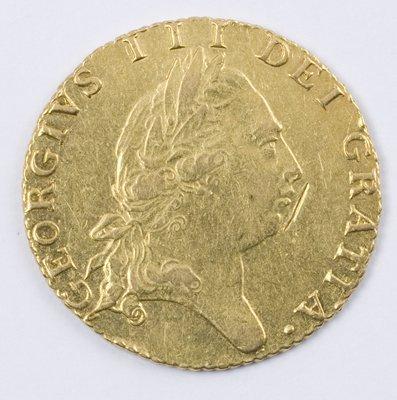 485: George III, half guinea, 1793