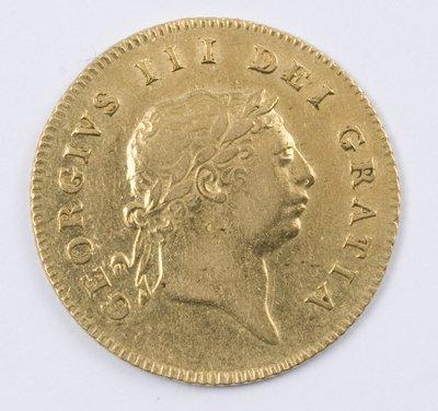 486: George III, half guinea, 1808
