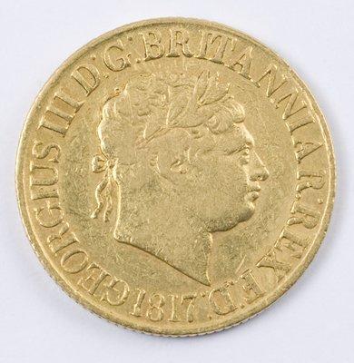 487: George III, sovereign, 1817