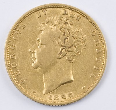 488: George IV, sovereign, 1826