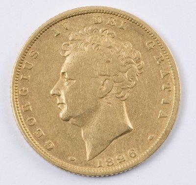 489: George IV, sovereign, 1826