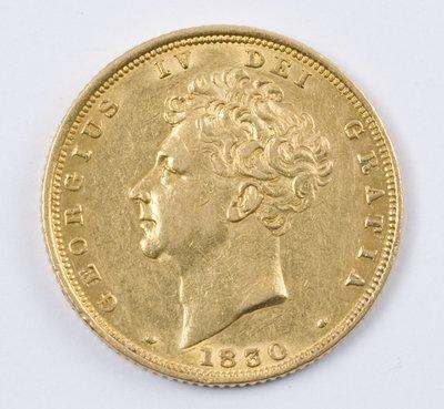 490: George IV, sovereign, 1830