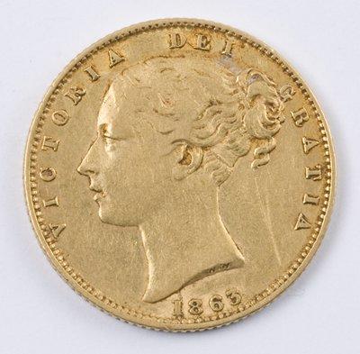 492: Victoria, sovereign, 1863