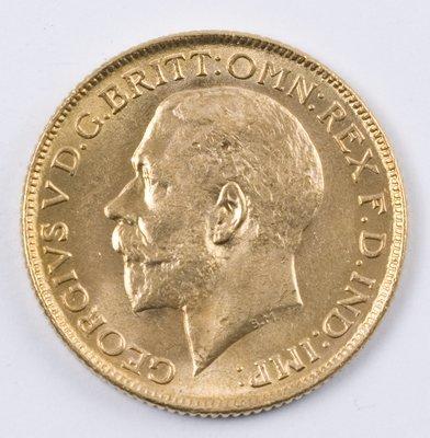 497: George V, sovereign, 1918 I