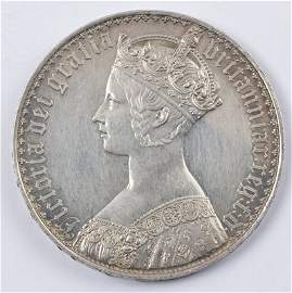 536: Victoria, Gothic crown, 1847
