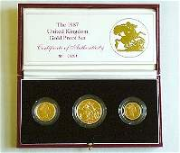 1189 Elizabeth II AV proof set 1987