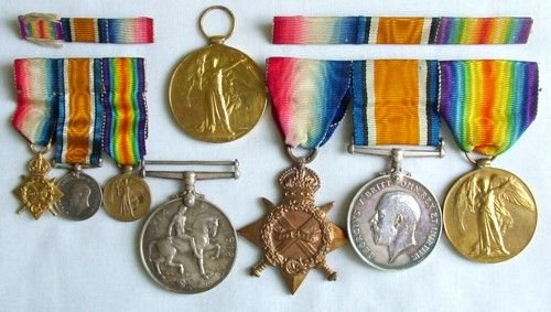 1428: 1914-18 pair, to RN, etc.