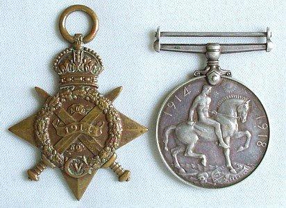 1429: 1914-18 pair, to Royal Irish