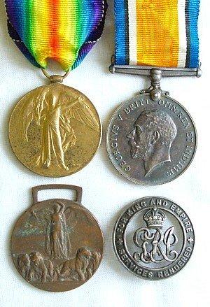 1430: 1914-18 pair, to RA, etc.