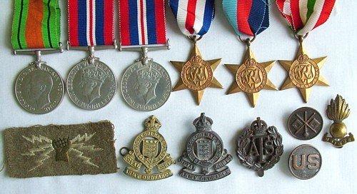 1431: 1939-45 group (5), etc.