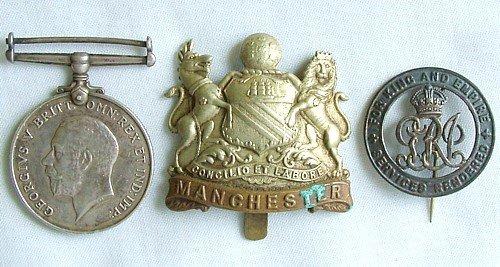 1433: 1914-18 War Medal etc.