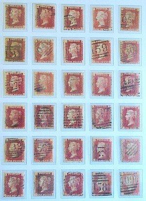 1562: Vic. to E.II pre-decimal collection