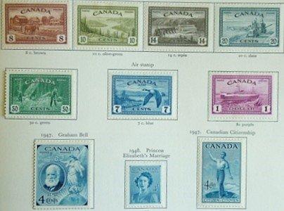 1673: British Commonwealth, G.VI collection